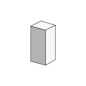 10.34 Quarter Block Solid - Rodgers Building and Landscaping Supplies