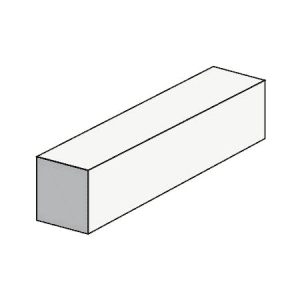 10.83 Half High Solid Block - Rodgers Building and Landscaping Supplies