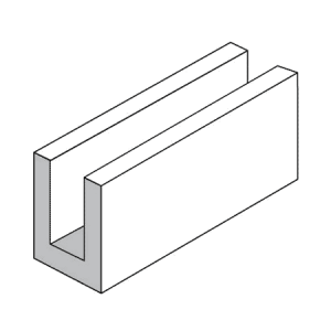 15.12 Lintel or Bond Beam Block - Rodgers Building and Landscaping Supplies