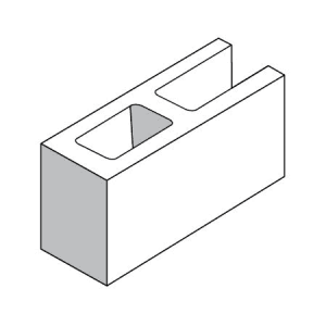 15.49 Open End Block - Rodgers Building and Landscaping Supplies