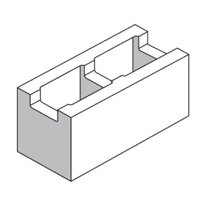 20.421 Recessed Web Block - Rodgers Building and Landscaping Supplies