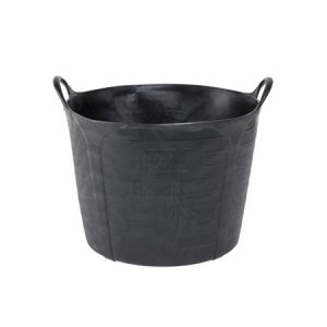 Ox Jar 40 Litre Heavy Duty Rubber Bucket - Rodgers Building and Landscaping Supplies