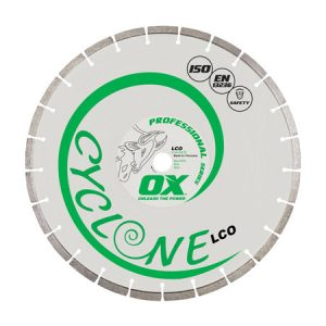"Ox LCO Cyclone 400mm/16"" Segmented Diamond Blade - Concrete - Rodgers Building and Landscaping Supplies"