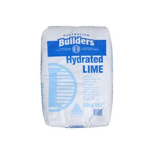 BPS Hydrated Lime (20kg) - Rodgers Building and Landscaping Supplies
