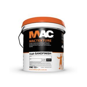 Mac 1140 Sandfinish - Rodgers Building and Landscaping Supplies
