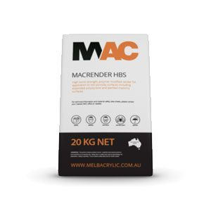 Macrender HBS (20kg) - Rodgers Building and Landscaping Supplies