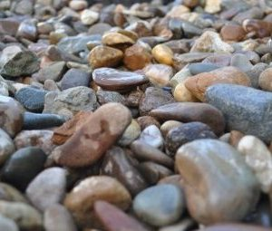 River Pebbles - Small Bag - Rodgers Building and Landscaping Supplies